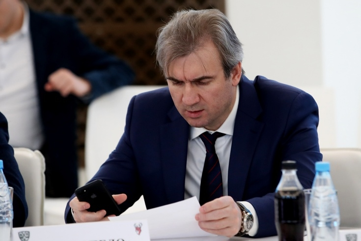 Александр Харламов принял участие в Совете по развитию МХЛ